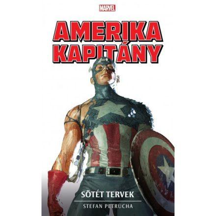 Amerika Kapitány: Sötét tervek  (Regény)