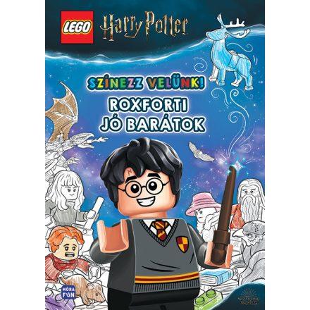 Lego harry Potter - Roxforti jó barátok-Színezz velünk