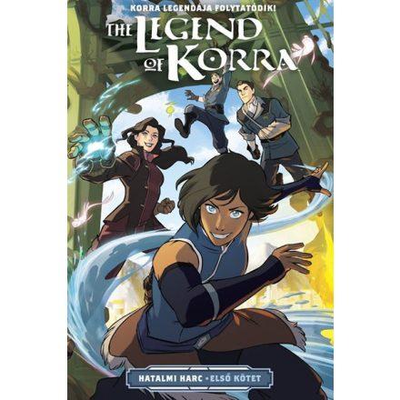 Korra legendája- Hatalmi harc 1. kötet
