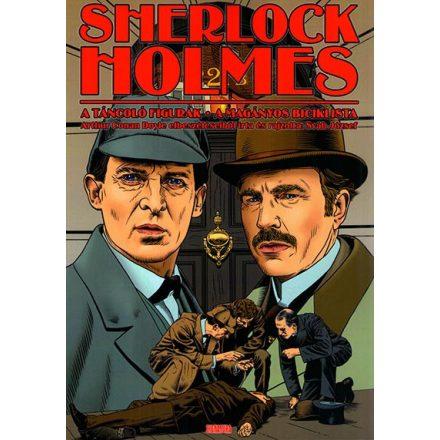 Sherlock Holmes - A táncoló figurák  -   A magányos biciklista  #képregény